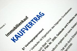 Kaufvertrag Immobilie in Brandenburg