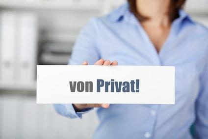 Immobilienverkauf privat oder mit Makler