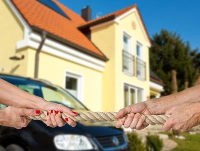Haus verkaufen bei Scheidung