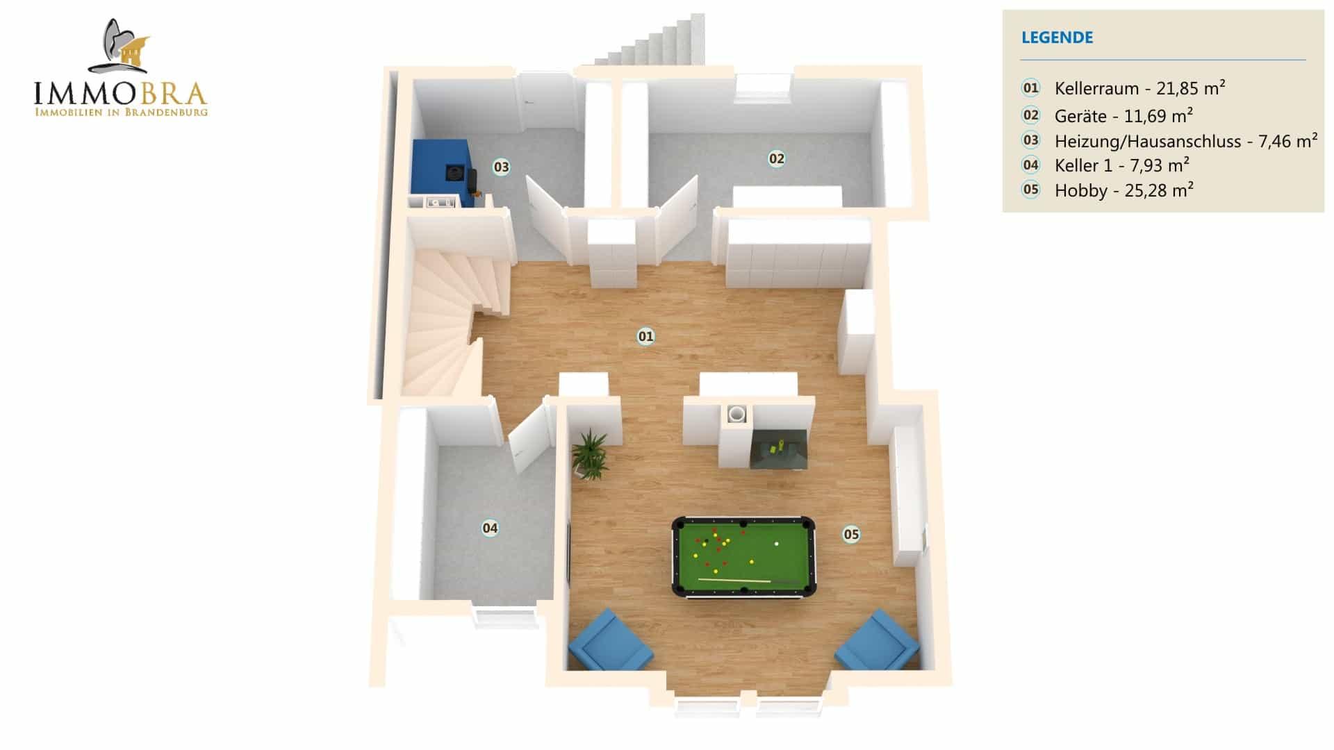 Attraktives Einfamilienhaus mit Doppelgarage am Seehof › Immobra