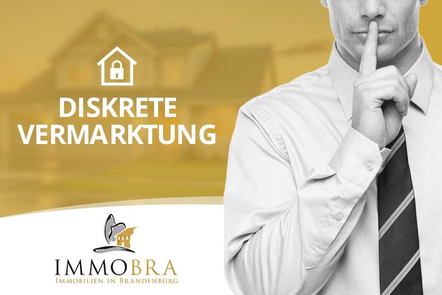 Diskreter Immobilienverkauf in Brandenburg